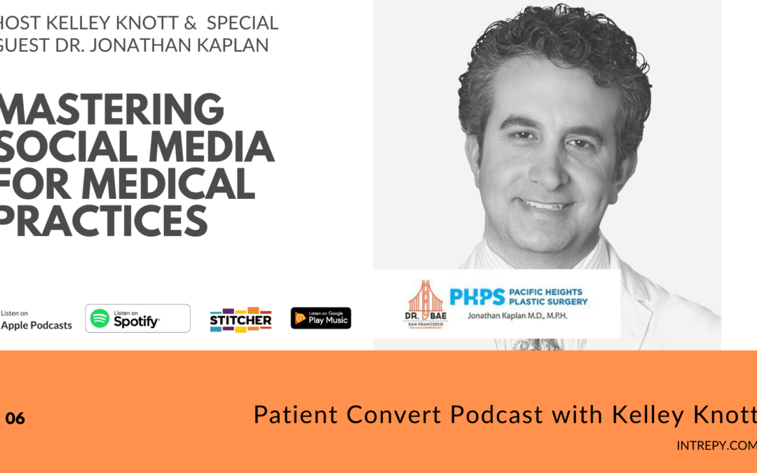 Mastering Social Media for Medical Practices with Guest Dr. Jonathan Kaplan